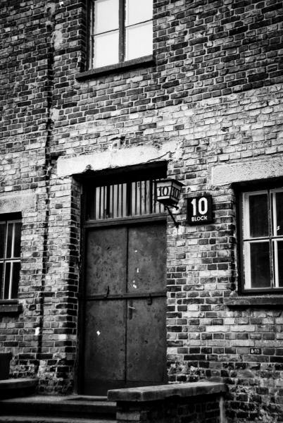 Block 10 - Auschwitz - Where medical experiments were conducted.
