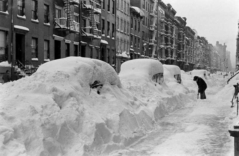 Great Blizzard in New York City - December 12, 1947