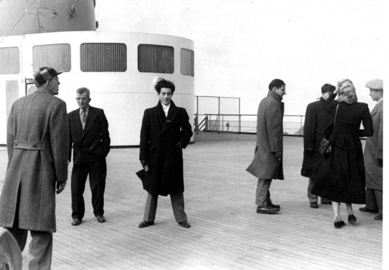 Siggi's Arrival to America in 1947