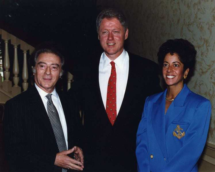 Siggi with President Bill Clinton