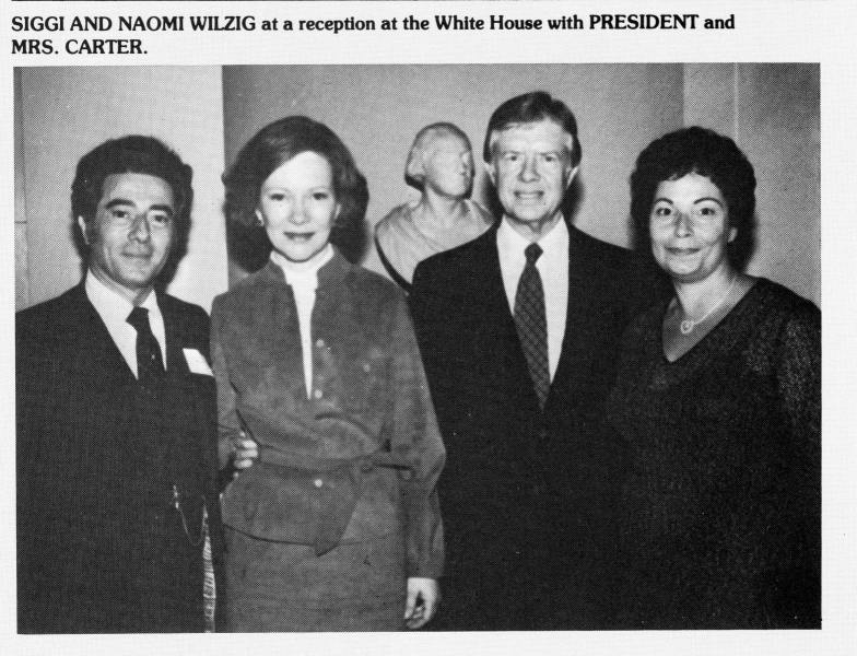 Wilzigs with President Jimmy Carter and the First Lady